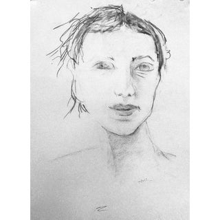 """Woman"" Original Drawing by Martha Holden"