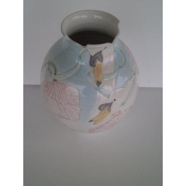Vintage Art Pottery Vase - Image 6 of 10