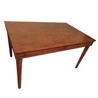 Dessin Fournir Burl Wood Desk