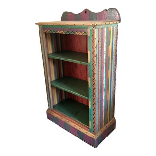 Colorful Boho Chic Bookcase
