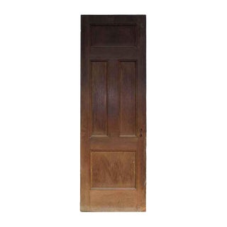 Antique Six & Four Panel Wood Door