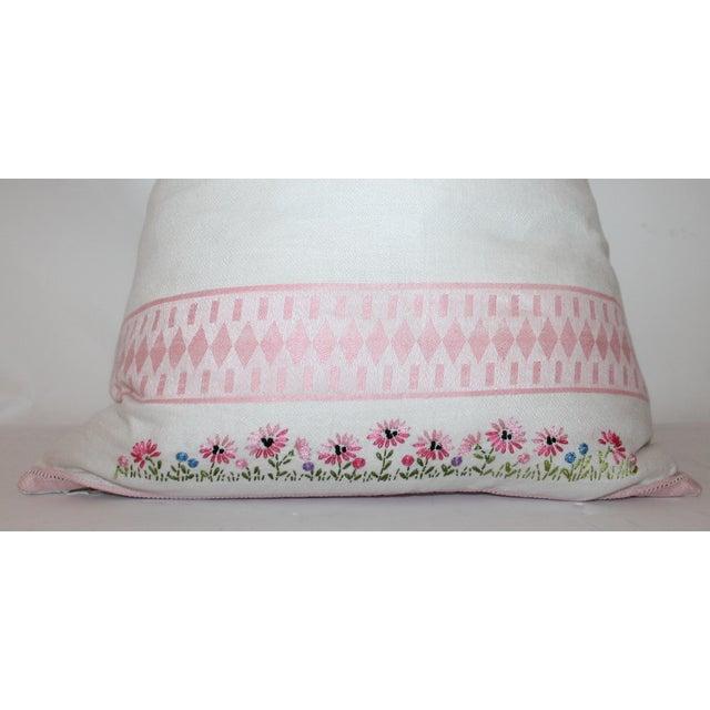 American Floral Tea Towel Pillow - Image 3 of 6