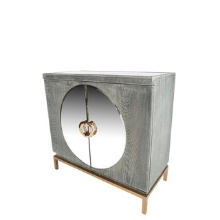 Statements By J Accent Cabinet With Gold Legs