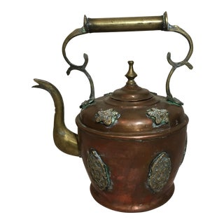 Copper Detailed Kettle