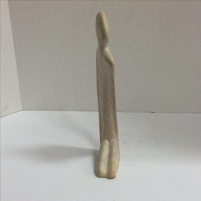 Image of Kneeling Nude Modernist Sculpture