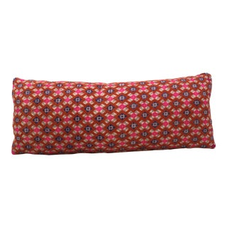 Hmong Wedding Fabric Bolster Pillow
