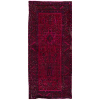 "Apadana - Vintage Overdyed Rug, 3' x 6'8"""