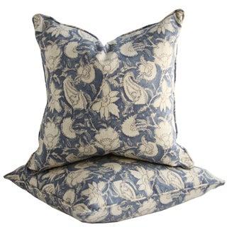 Ralph Lauren Floral Pillows - A Pair