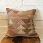 Image of Vintage Moroccan Kilim Rug Pillow