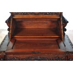 Image of 18th Century Normandy Drop Desk w/Carved Griffins