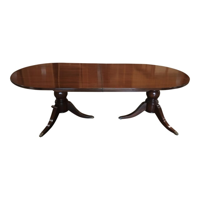 Carved Feet Oval Dining Table Chairish