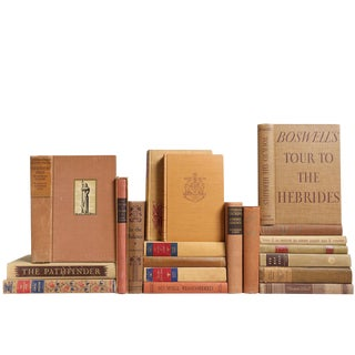 Burnished Clay Classic Books - Set of 20