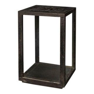 Sarreid Ltd Medium Black Weathered Candle Stand