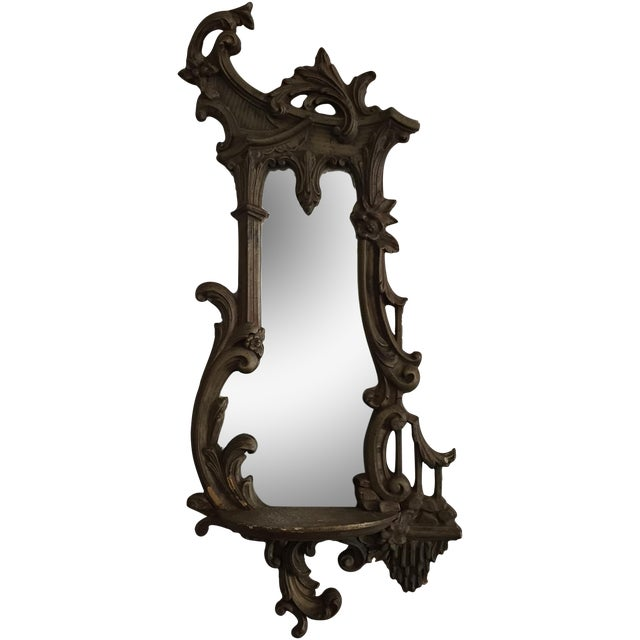 Antique Ornate Victorian Mirror - Image 1 of 6