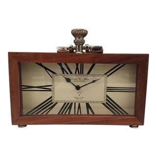 Roman Numeral Wooden Clock