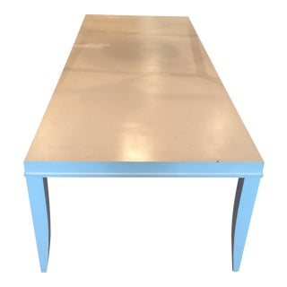 Crate & Barrel White Parsons Table