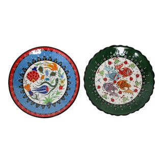 Kütahya Wall Plates - Set of 2