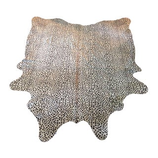 Brazilian Cowhide Rug in Cheetah Print