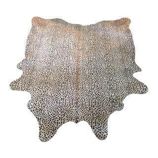 Brazilian Cowhide Rug in Cheetah Print