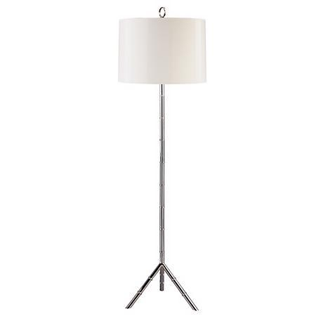 jonathan adler meurice silver floor lamp chairish. Black Bedroom Furniture Sets. Home Design Ideas