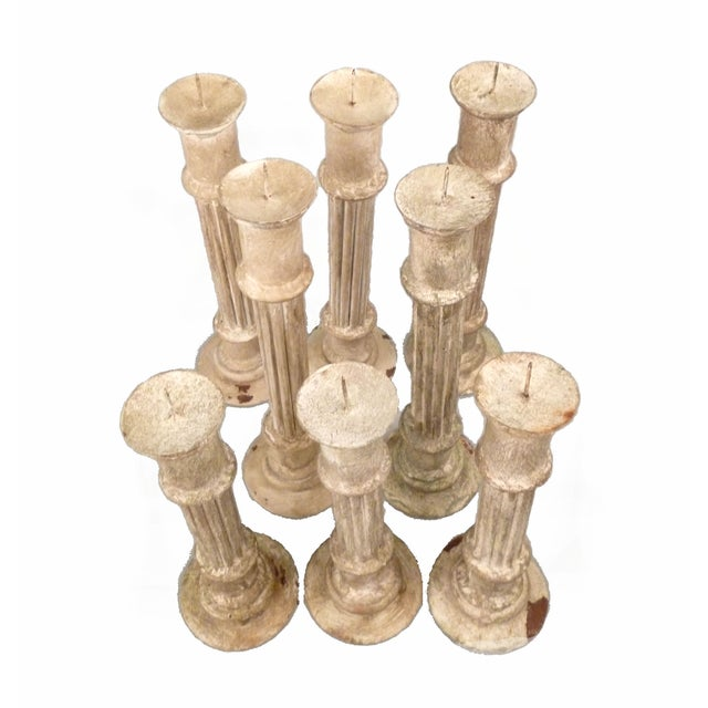 Classical Column Candlesticks - Set of 8 - Image 7 of 7