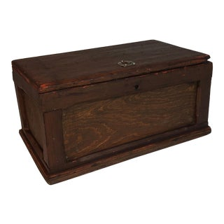 Antique Primitive Wood Box
