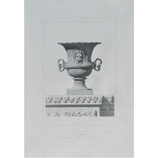 French 'Architecture 4' Engraving Print