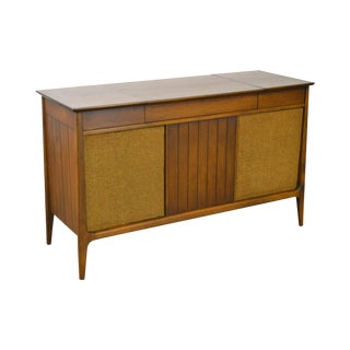 Mid Century Modern Danish Style Stereo Console w/ Record Player