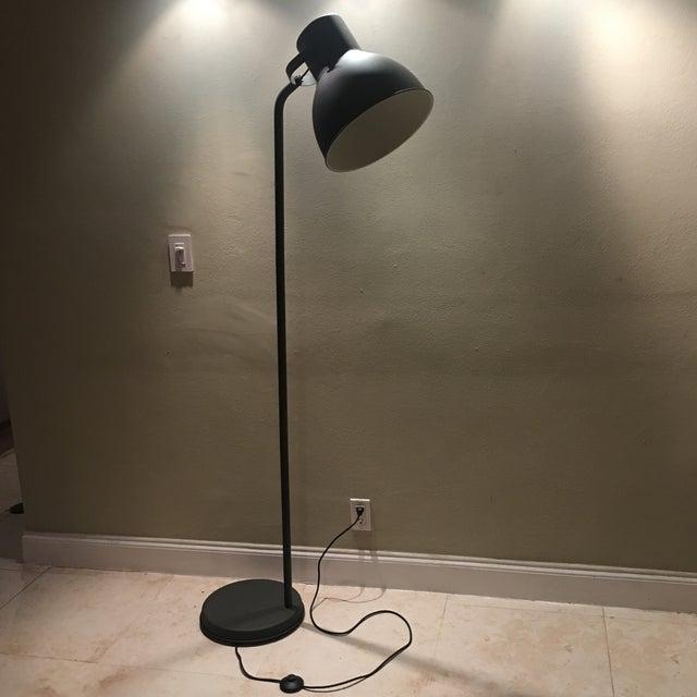 Dark Bronze Industrial Floor Lamp - Image 2 of 6