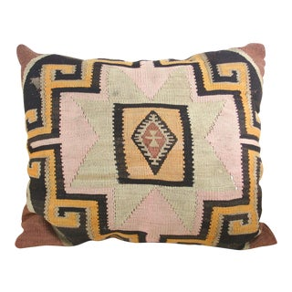 Rockin the Casbah Large Kilim Pillow