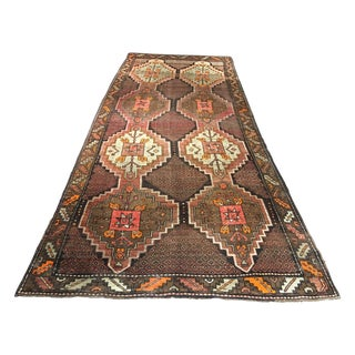 Turkish Oushak Rug - 5′8″ × 13′7″