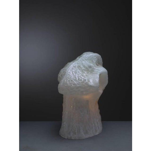 Carlo Nason Sculptural Murano Glass Table Lamp by Mazzega, Italy, 1960s - Image 4 of 9