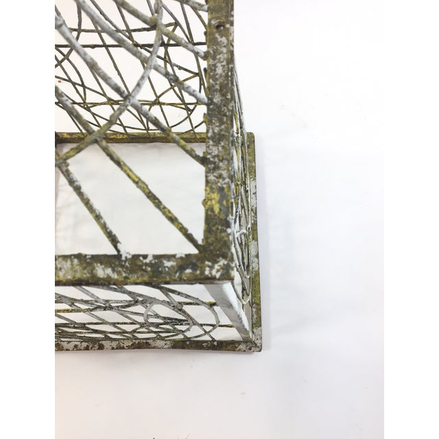 Patina Covered Plant Stand - Image 4 of 4