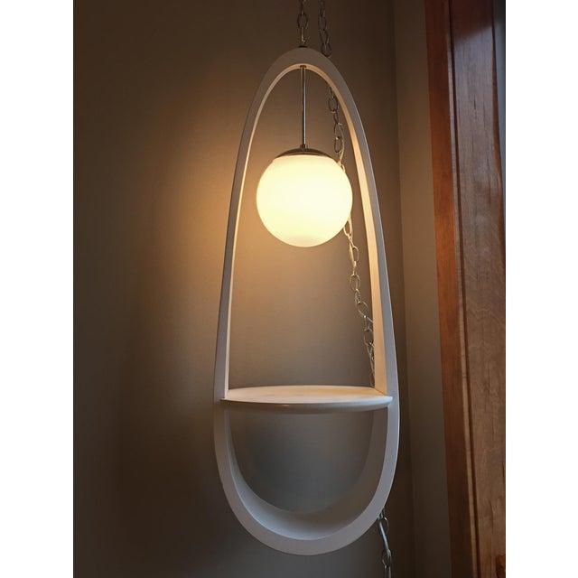 Milo Baughman Swag Light - Image 2 of 5