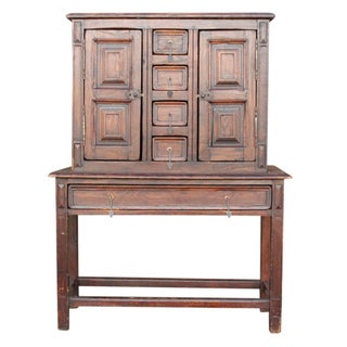 Spanish Colonial Chestnut Cabinet