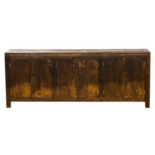 Mongolian Style Vintage Reclaimed Sideboard Cabinet Buffet