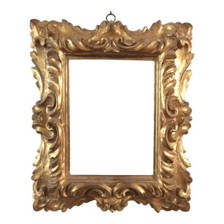 19th Century Antique Florentine Frame