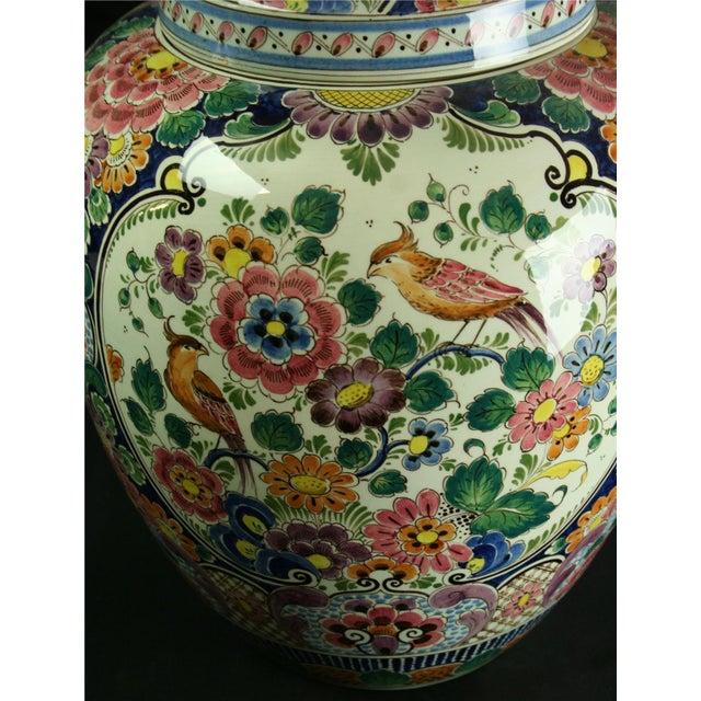 Large 1940s Vintage Majolica Ginger Jar - Image 7 of 8