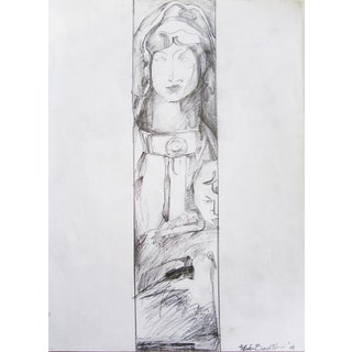 """Mater Christi"" Religious Drawing"