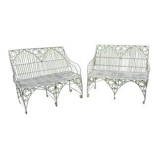 Gothic Style Wirework Seats