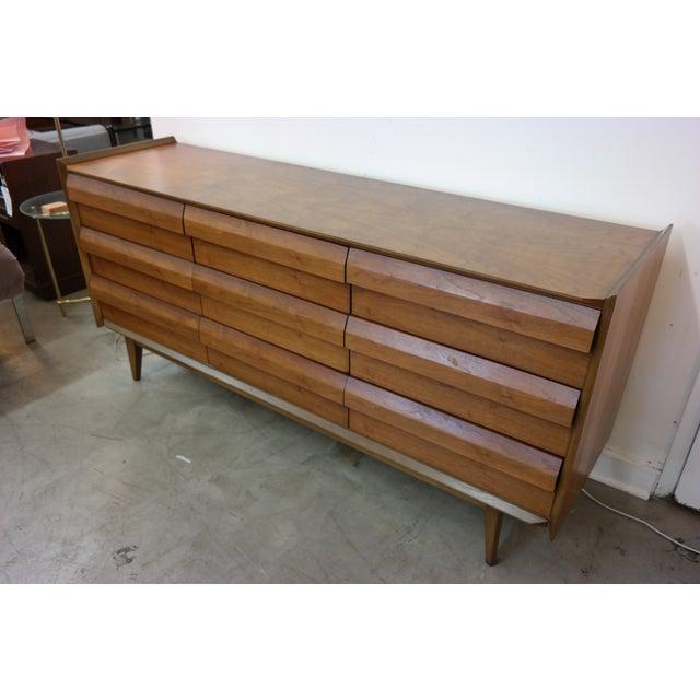Mid-Century Lane Nine-Drawer Dresser - Image 3 of 7