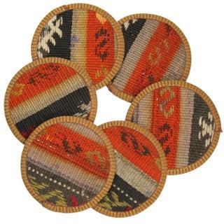 Tuğcular Kilim Coasters - Set of 6