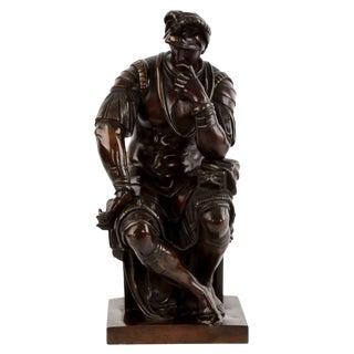 Bronze Sculpture of Lorenzo de Medici after the Antique, 19th Century
