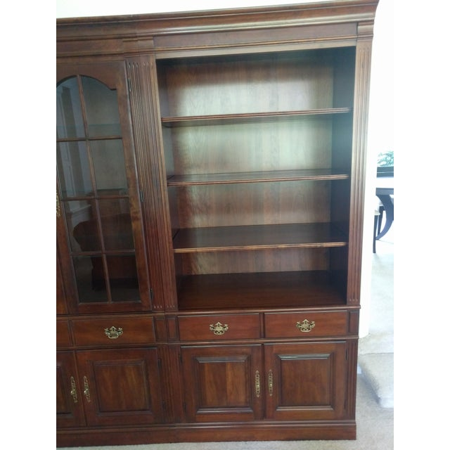 Pennsylvania House Bookcase Wall Unit - 3 Pieces - Image 4 of 10