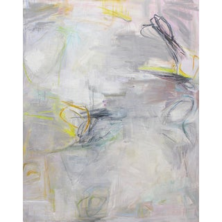 """Trixie Pitts """"Sailing"""" Large Abstract Painting"""