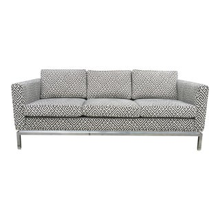 Mid-Century Modern Chrome Sofa