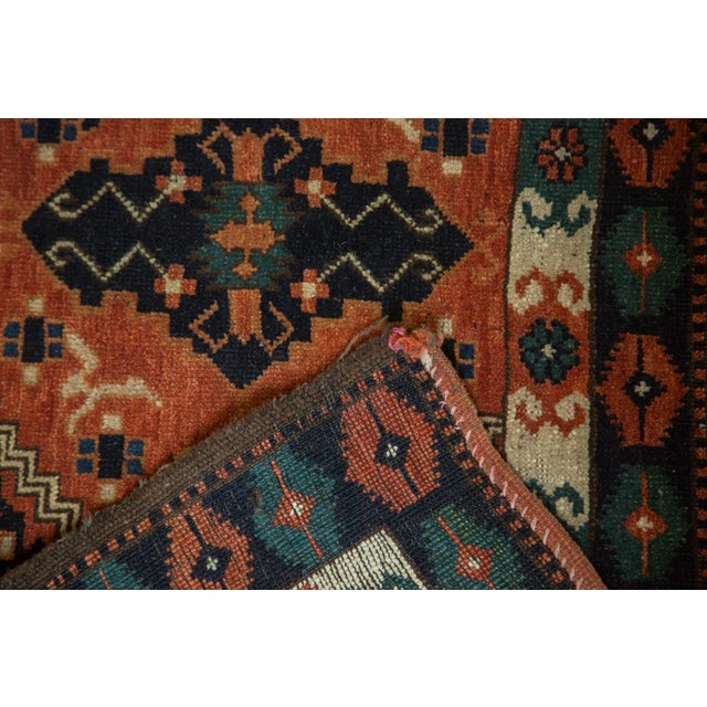 "Vintage Afghan Tent Cover Rug Runner - 1'11"" x 5'8"" - Image 5 of 8"