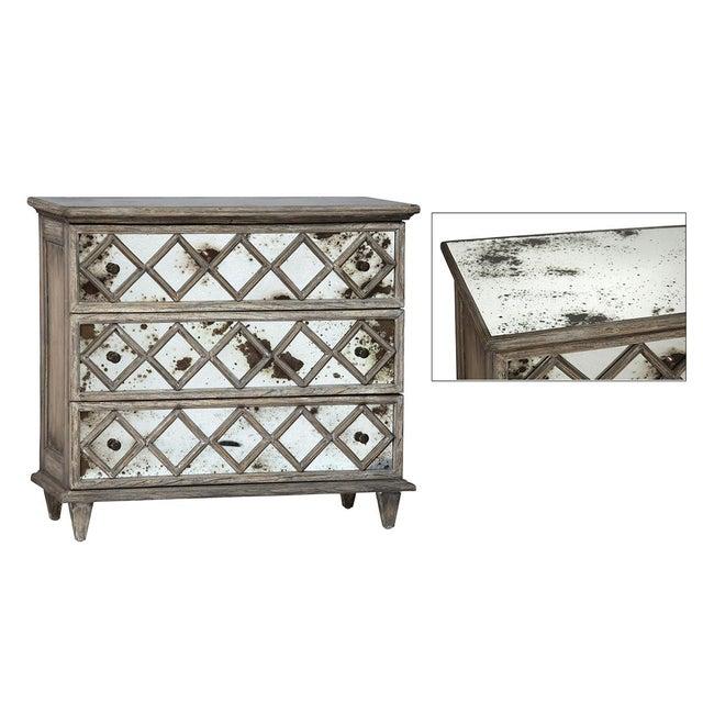 Antiqued Mirror Dresser - Image 2 of 2