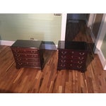 Image of Henkel Harris Four-Drawer Chests - A Pair