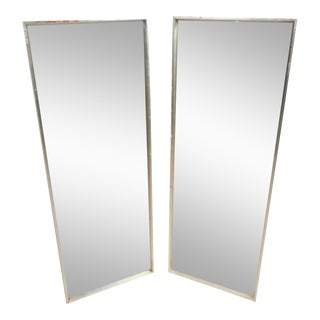 Pair of Tall Mid-Century Modern Mirrors